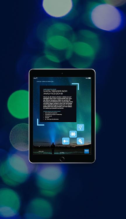 iPad Landningssida-trendguide